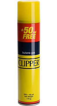 3 X Clipper Universal High Quality Butane Gas Lighter Refill Fluid 300ml Fuel 6