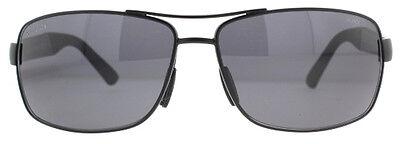 0a1763b5b0637 ... GUCCI Square Men Sunglasses GG 2234 S Matte Black Grey Polarized Lenses  C0Y3H 2