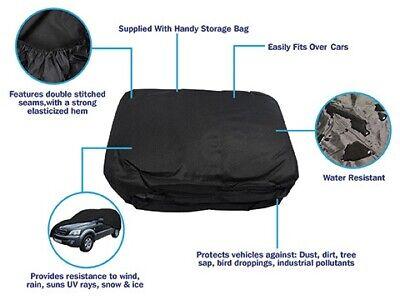 Sun SUMEX Rain Ice /& Snow Protection Breathable Car Cover to fit Saab 9-5 Dirt
