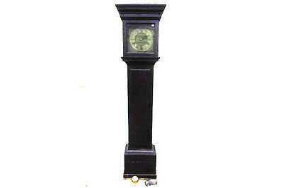 """ROBERT CROOME of WOOTTON under EDGE.  LOVELY 11"""" BRASS DIAL LONGCASE 3 • £925.00"""