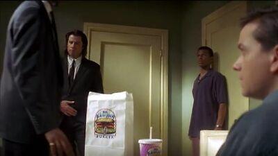 Big Kahuna Burger BAG Pulp Fiction Once upon time hollywood TARANTINO Movie prop 5