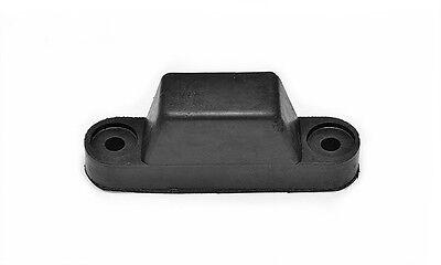 8 X Rubber Top Hat Buffer black Truck Trailer Dropside Horsebox Tailboard