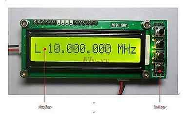 0.1~1100MHz  1.1GHz Frequency Counter Tester Measurement F Ham Radio PLJ-1601-C 4