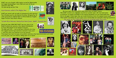 KMET 94.7 ~ 2 CD Set ~ Vol 001 JUNE 1978 ~ Mini Lp/cd Radio Aircheck ~ BRAND NEW 2