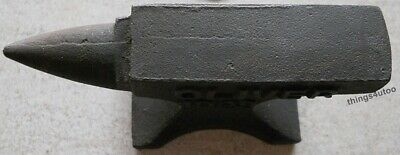 Ford Cast Iron Anvil Paperweight Salesman Jewelry Blacksmith #E160 3