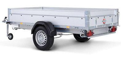 STEMA Pkw Anhänger STL 1300 Kg 251x128x35cm gebremst Kasten 2