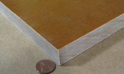 "Garolite Micarta Phenolic G10FR4 Sheet .625/"" Thick  x 12/"" x 12/"" 5//8/"""