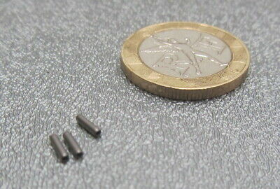 """420 Stainless Steel Coiled Spring Pin, 3/64"""" Dia x 3/16"""" Length,50 pcs 10"""
