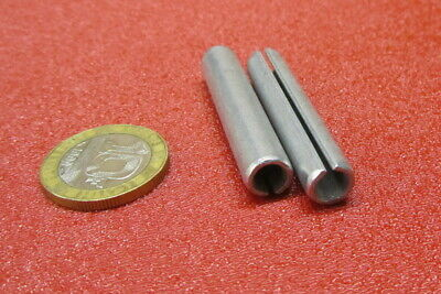 "Zinc Plate Steel Slotted Roll Spring Pin, 5/16"" Dia x 1 3/4"" Length, 50 pcs 9"