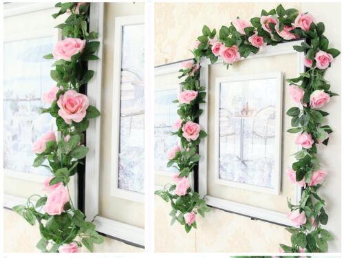 Kunstlich Hangend Efeu Girlande Blumen Hochzeit Garten Deko