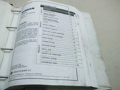 NISSAN PRIMERA 1998 P11 Workshop Manual Werkstatthandbuch SM8E ...