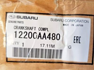 Genuine 09//15 Subaru Impreza//Legacy Forester EE20Z Diesel Anello Pistone Set