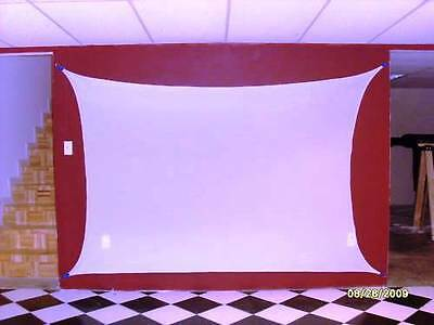 """Stretch Screen, Backdrop,  84"""" X 60"""" (7' X 5'), Front/rear Projection"""