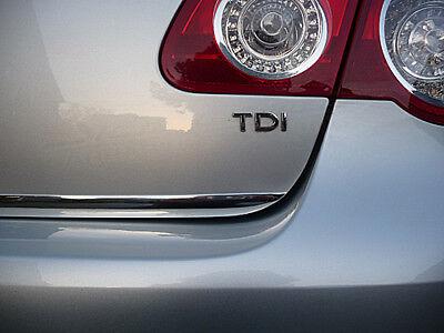 VW Passat B6 Typ 3C Limousine Chrom Zierleiste 3M Tuning Heckleiste Kantenschutz