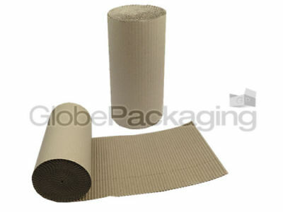 550mm x 10m CORRUGATED CARDBOARD PAPER ROLL 10 METRES 2