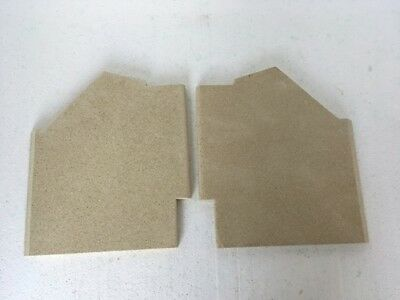 Fire Brick Set Compatible with FP5 Fireline Medium Stoves Check your sizes