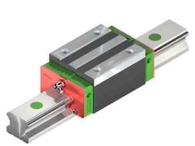 HIWIN HGR Linear Guide Rail 2x Rail Blocks - CNC - HGR 15 - 20 - 25 -30 3