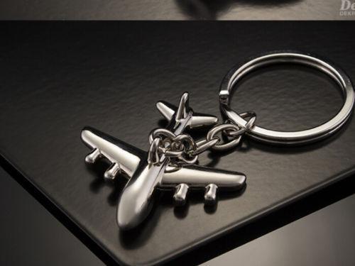 Classic 3D Simulation Model airplane plane Keychain Key Chain Ring Keyring Gift 8