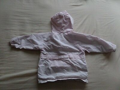 Baby Gap Girls Pale Pink Hooded Jackets Size 3 Years 4