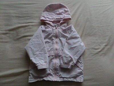 Baby Gap Girls Pale Pink Hooded Jackets Size 3 Years 10