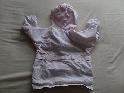 Baby Gap Girls Pale Pink Hooded Jackets Size 3 Years 8