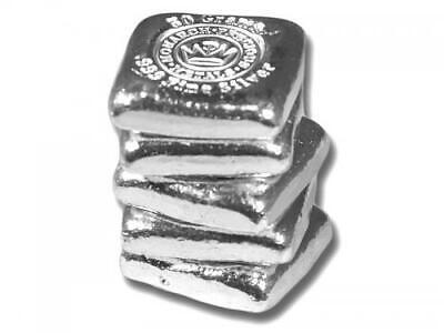 1  -  50 Gram. 999 Fine Silver Bar - Monarch - Hand Poured - Uncirculated 4