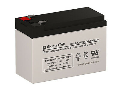 Mighty Max Battery 12V 7.2AH Battery Replaces Powerware PW5110-750VA 12V 1Amp Charger Brand Product