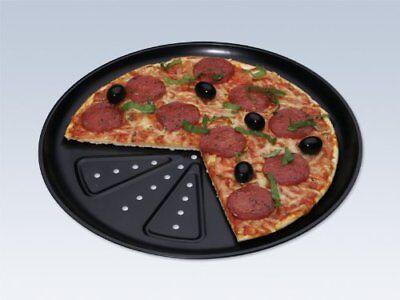 Teglia da forno per pizza, 2 pezzi, diametro: 28 cm, nuova qualità professionale