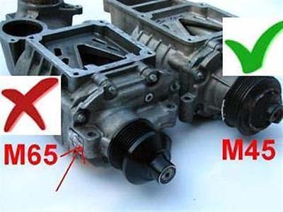 SUPERCHARGER COMPLETE REBUILD kit fits Eaton M45 01-04 MERCEDES SLK230 C230