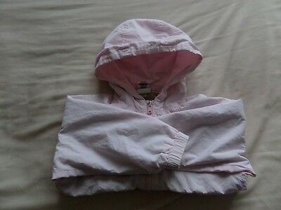 Baby Gap Girls Pale Pink Hooded Jackets Size 3 Years 7