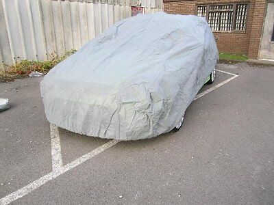 Breathable Water Resistant Indoor Outdoor Full Car Cover for Mercedes SLK-Class 5