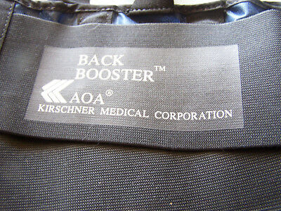 2 Used Kirschner Medical Aoa Back Booster Belts 2