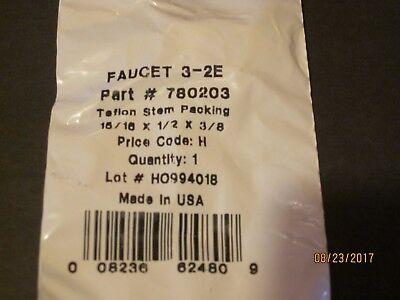 Faucet 3-2C Part # 780201 Teflon Stem 3/4 X 13/32 X 9/32 HO2041061 h3 2