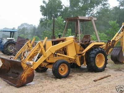 CASE 580E SUPER E 580SE Loader Backhoe Tractor Parts Catalog Manual 580CK  580-E
