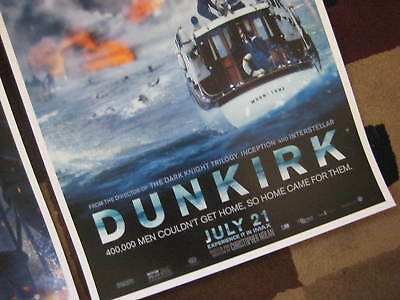 """Dunkirk ( 11"""" x 17"""" ) Movie Collector's Poster Prints ( Set of 3 ) 6"""