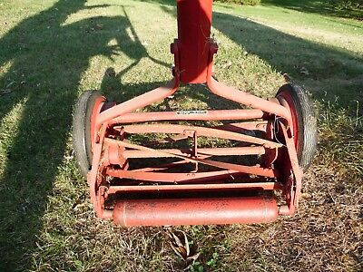 Antique Primitive Sears Craftsman Mower Works Great - In Great Condition!