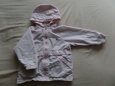 Baby Gap Girls Pale Pink Hooded Jackets Size 3 Years 9