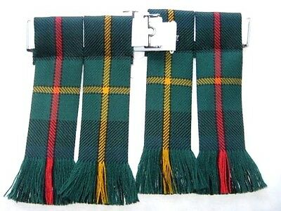 Kilt Hose Sock Flashes Smith Modern Tartan Worsted Wool Made In Scotland Kilts 2
