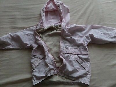 Baby Gap Girls Pale Pink Hooded Jackets Size 3 Years 5