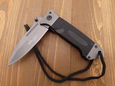 Einhandmesser  Messer  Taschenmesser  Klappmesser  Micarta  Clip 344502 MILTEC