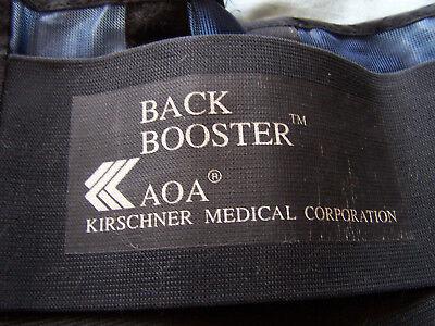 2 Used Kirschner Medical Aoa Back Booster Belts 5
