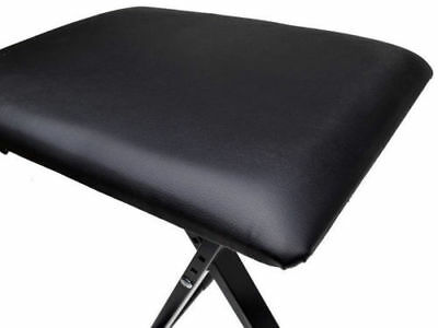 Adjustable 3 Way Folding Keyboard Piano Stool Bench Seat Chair POST FROM SYD 4