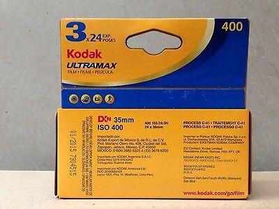 9 x KODAK ULTRAMAX Film (3X3PKS)! Colour Negative 35mm Film! Bulk Buy. Exp 01/20 2