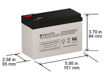 Mighty Max Battery 12V 12AH SLA Battery Replacement for Deltec PRB500-10 Pack Brand Product