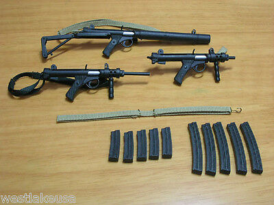 British Infantry Weapons Set 70 to 80s 1//6th Scale by RPC Free US Shipping