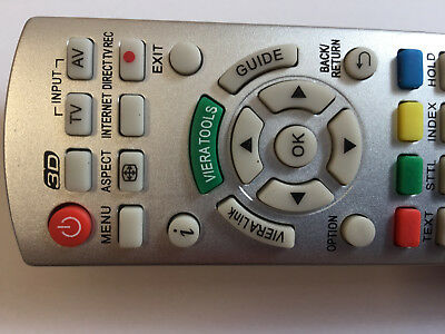 Ersatz Fernbedienung für Panasonic N2QAYB000672 Fernseher TV Remote Control