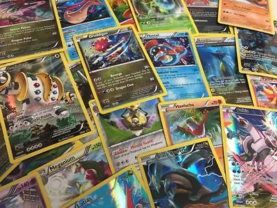 TCG 100 Card Lot Rare Common Unc Full Art GX Guaranteed EX AND Holo Rare Pokemon 6
