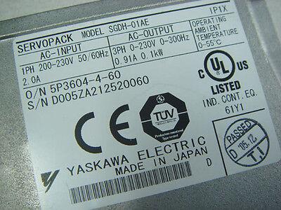 Yaskawa Servo Drive & Motor SGDH-01AE SGMAH-01AAA2C 100W