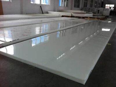 1pcs UHMW PLASTIC Sheet Plate 1mm X200mmX200mm