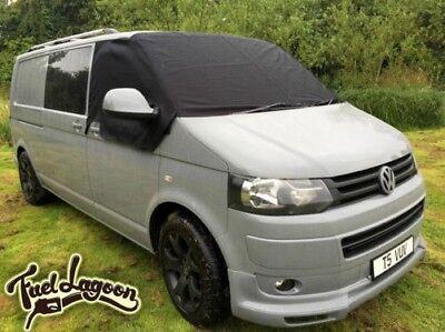 VW T6 Displayschutzfolie Deluxe Bezüge Fenster Vorhang Schwarz Out Abdeckung